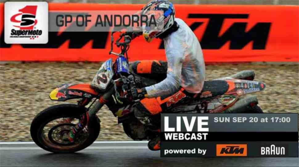 Supermoto: Гран-При Андорры - прямой эфир здесь!