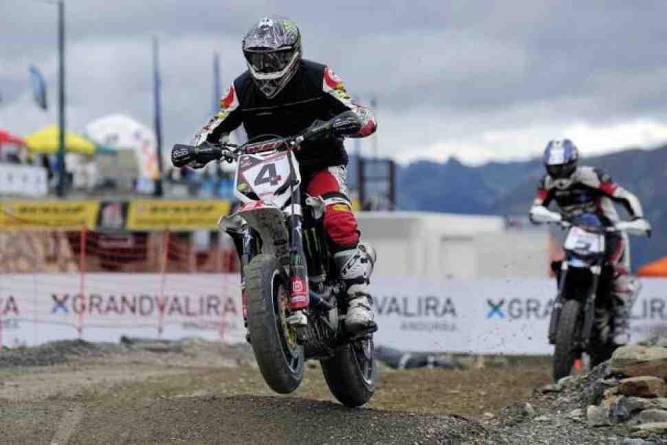 Supermoto: квалификация Гран-При Андорры за братьями Карейра