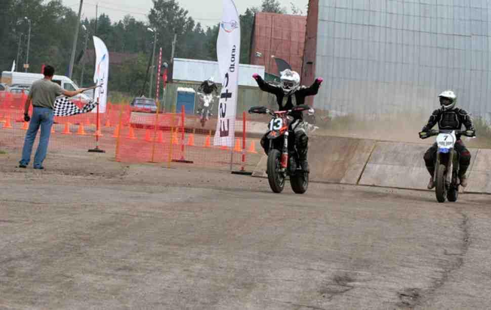 Супермото: результаты гонок класса Хобби, шестой этап ЧР, Фирсановка