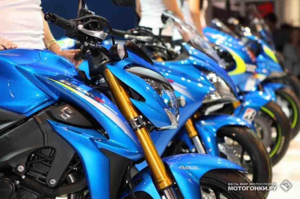 Suzuki GSX-S1000 и GSX-F1000 на INTERMOT-2014: обзор