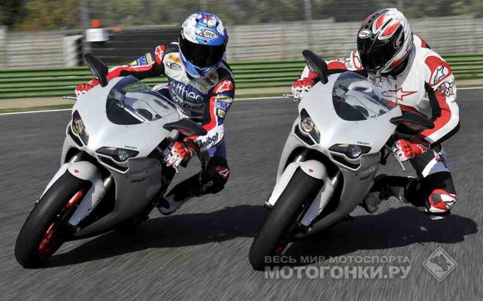 Тест-драйв: Ducati 848 EVO (2011) - видео