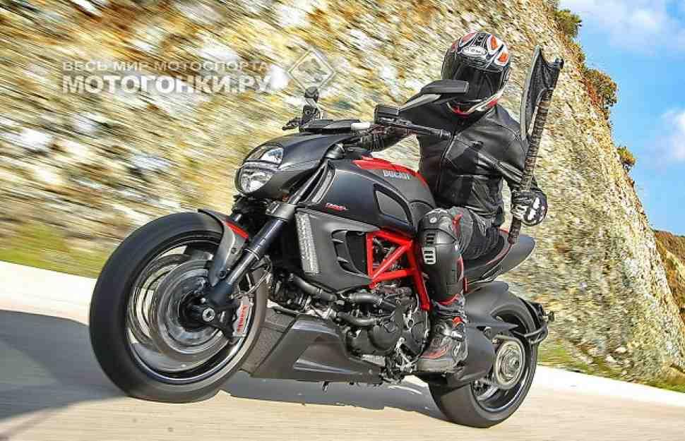 ТЕСТ-ДРАЙВ: Ducati Diavel (2011) – контракт с Дьяволом
