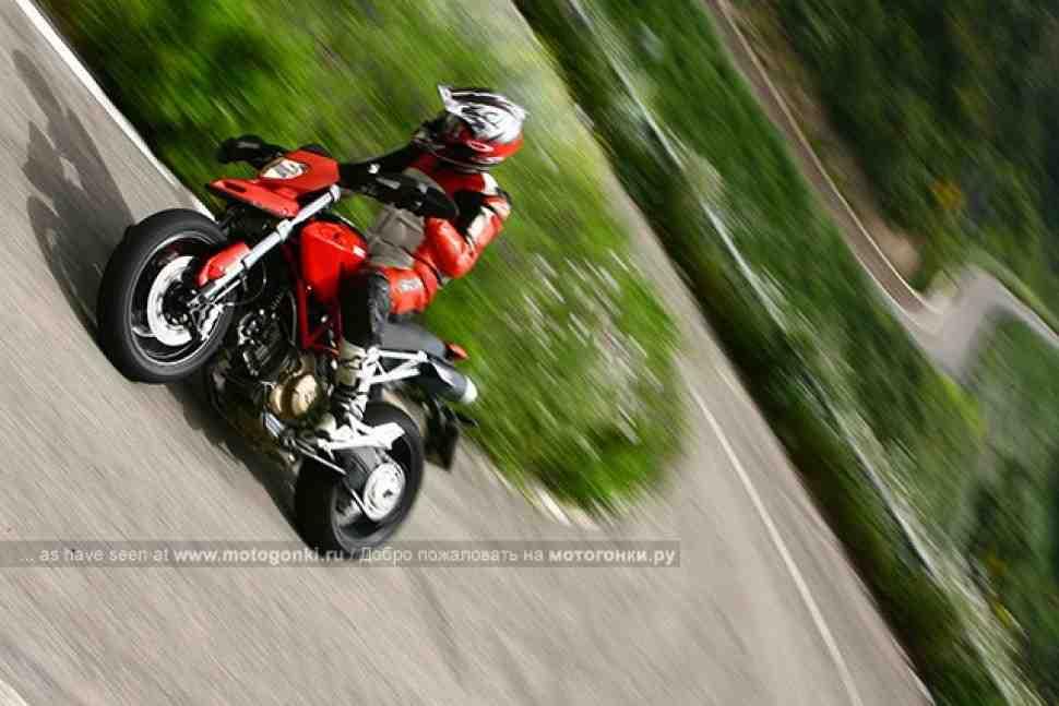 ТЕСТ-ДРАЙВ: Ducati Hypermotard 1100 – ГИПЕРклассно!