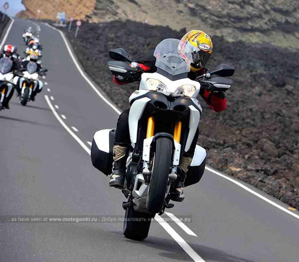 ТЕСТ-ДРАЙВ: Ducati Multistrada 1200 - первые впечатления