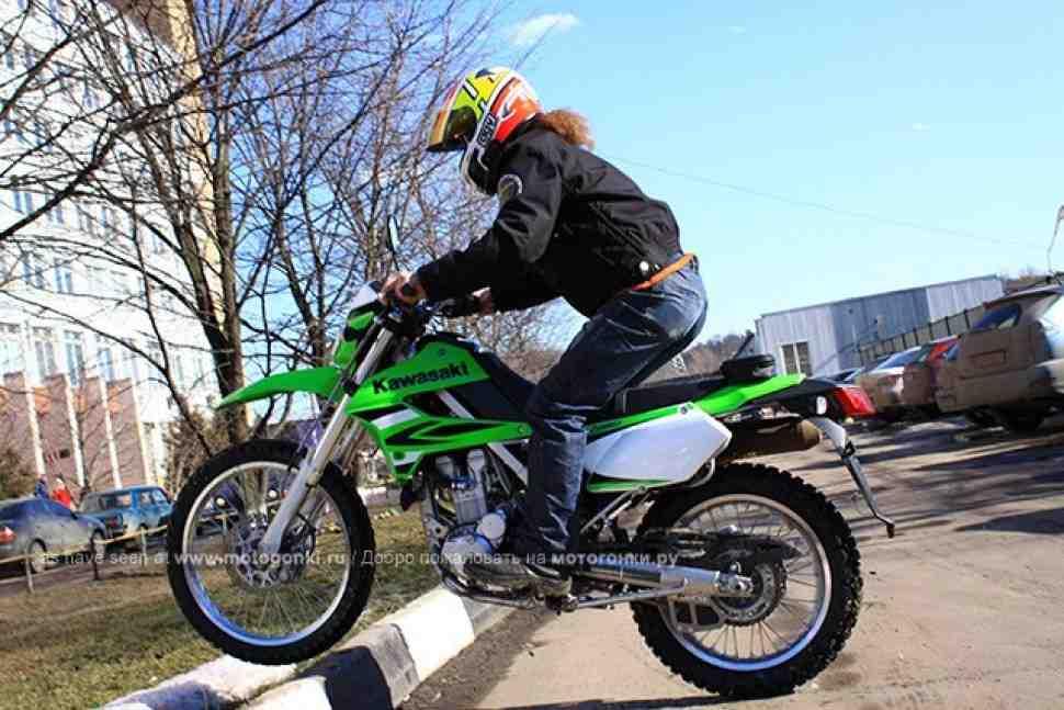 ТЕСТ-ДРАЙВ: Kawasaki KLX250 (2009)