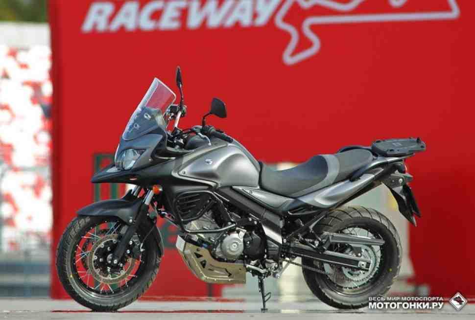 ТЕСТ-ДРАЙВ: Suzuki V-Strom 650XT - Приключенческий класс