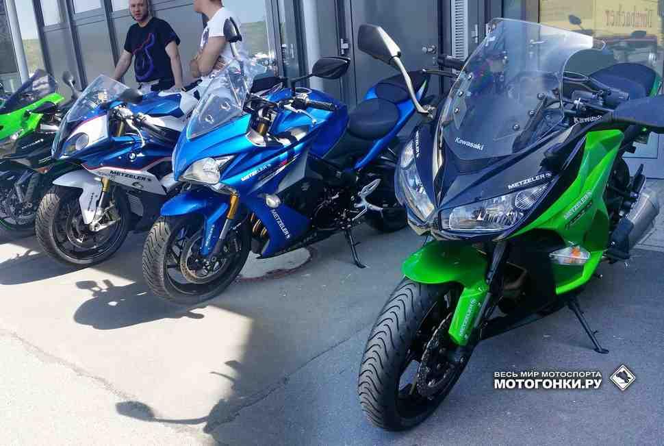 ТЕСТ-ДРАЙВ: Те, которых нет - Suzuki GSX-S1000F и Kawasaki Z1000SX