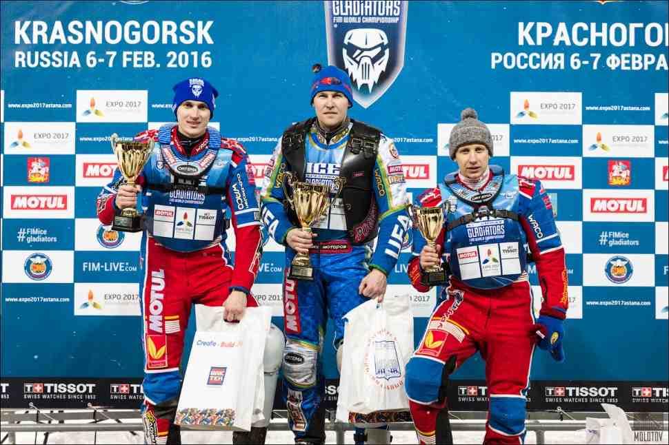 Участники КЧМ-2016 по ледовому спидвею уже в Тольятти
