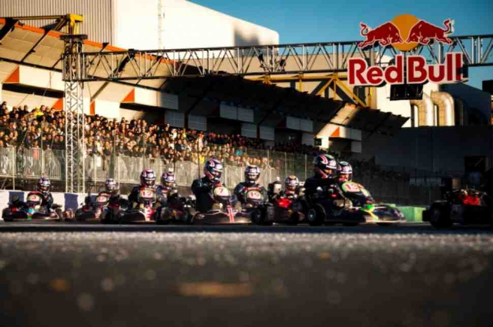 Василий Рожков- 2й в финале Red Bull Kart Fight
