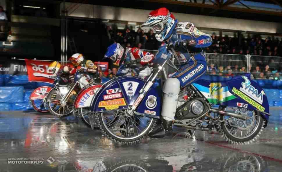 Видео-обзор предфинала Ice Speedway Gladiators в Ассене