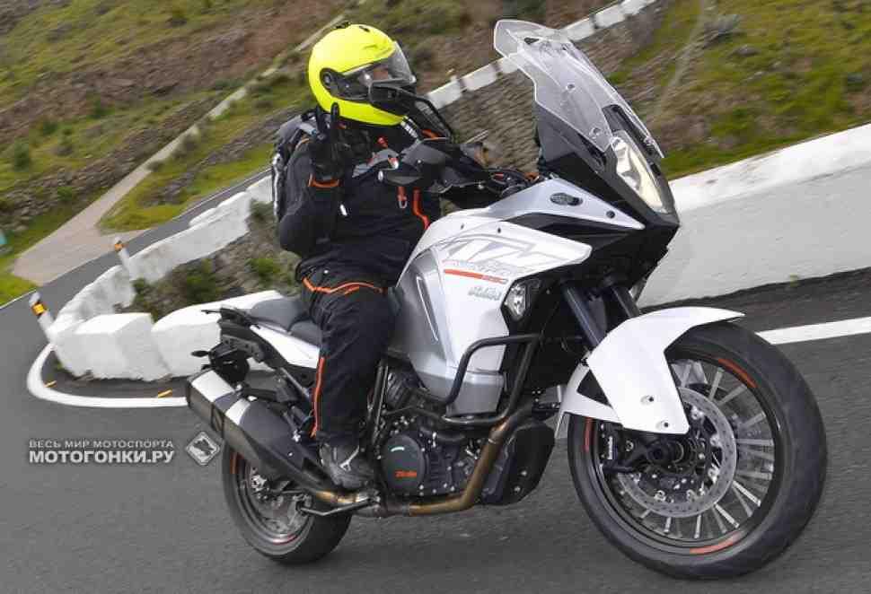 Видео тест-драйв KTM 1290 Super Adventure (2015)