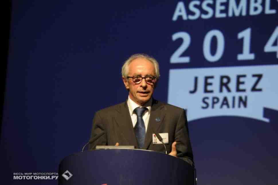 Вито Ипполито останется Президентом FIM до 2018 года