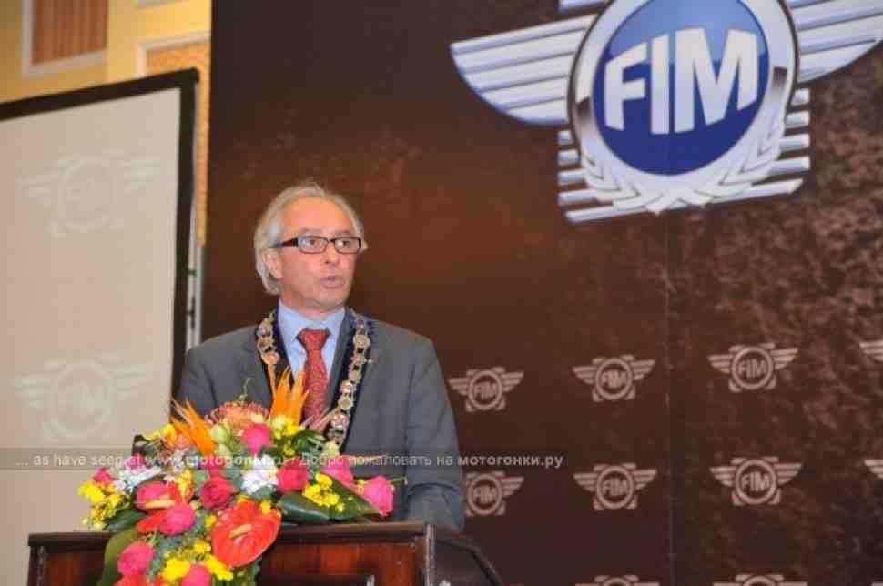 Вито Ипполито переизбран на пост Президента FIM