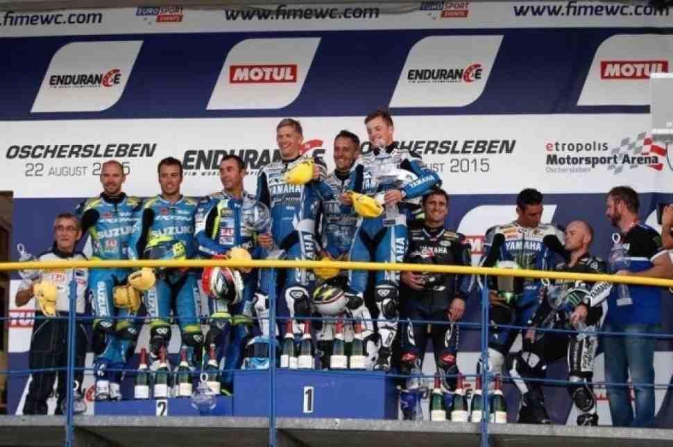 World Endurance: Yamaha и Suzuki на подиуме Oschersleben 8 Hours
