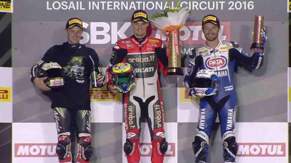 WSBK: Девис приносит Ducati шестую победу в семи гонках после каникул