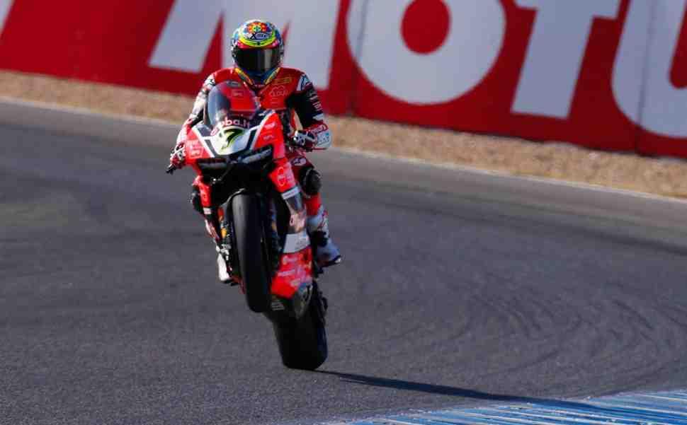 WSBK: Девис выигрывает первую гонку в Circuito de Jerez, Kawasaki - Кубок конструкторов
