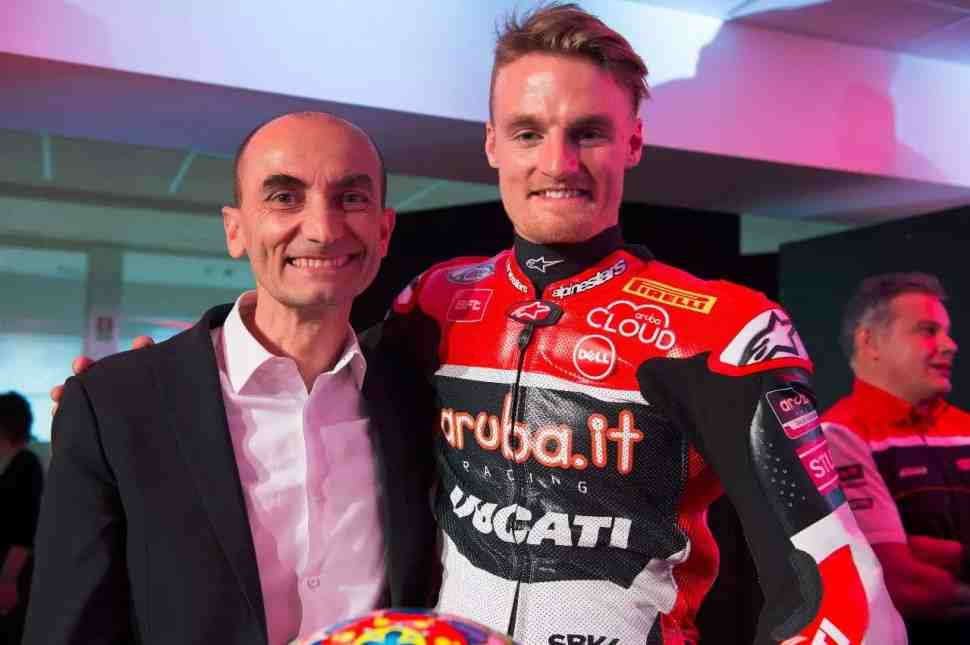 WSBK: Ducati негодует - Доменикали назвал поведение пилотов Kawasaki неспортивным