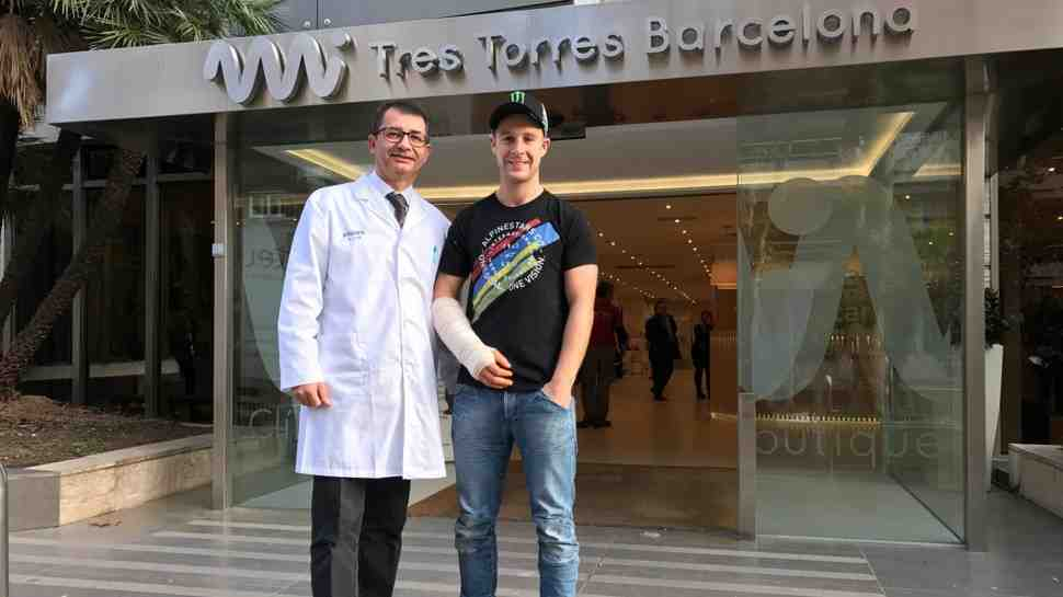 WSBK: Джонатан Рэй завершил сезон операцией против arm-pump на правой руке