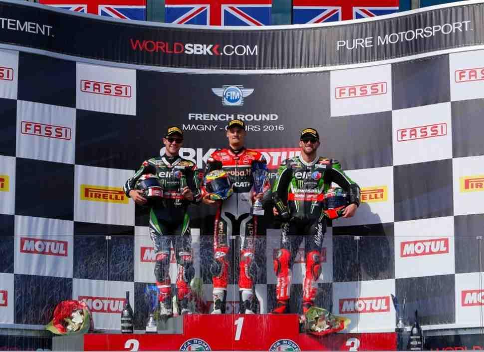 WSBK: Результаты второй гонки в Magny-Cours