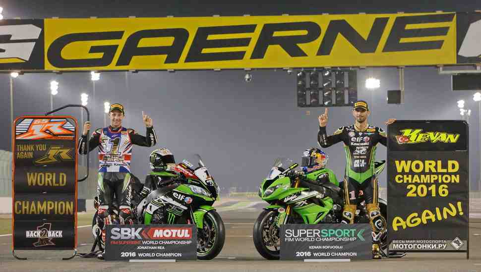 WSBK/WSS: Итоги World Superbike и Supersport 2016 - Kawasaki забирает все