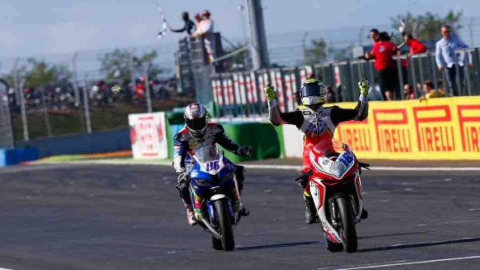 WSS: Жюль Клузель выигрывает в Magny-Cours - результаты