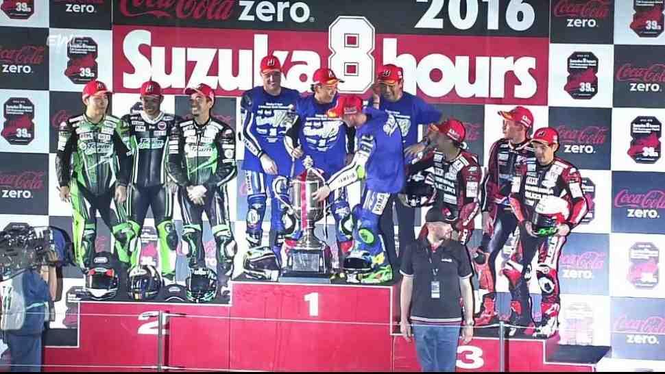 Yamaha выигрывает Suzuka 8 Hours второй год подряд
