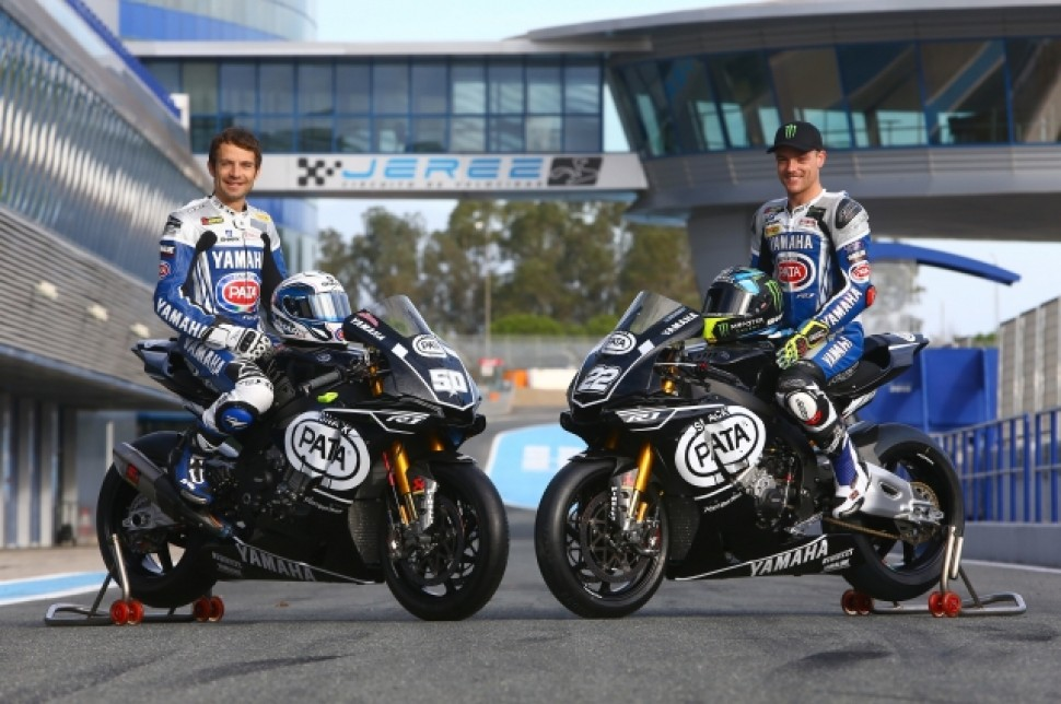 PATA YAMAHA WORLD SUPERBIKE