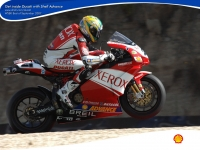 Xerox Ducati - SHELL Advance - Чемпионы мира по Супербайку 1024x768