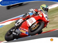 WSBK: Xerox Ducati - Powered by SHELL Advance 1024x768